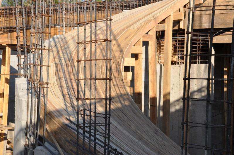Updates > A24: Concrete Rebar Spiral Staircase